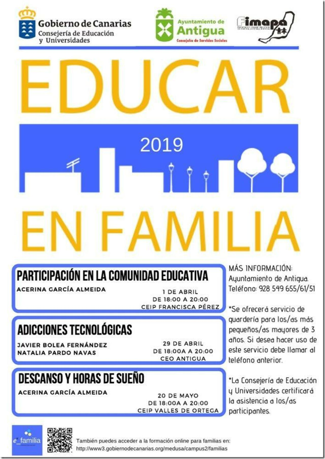 Regresa a Antigua el Programa Educar en Familia